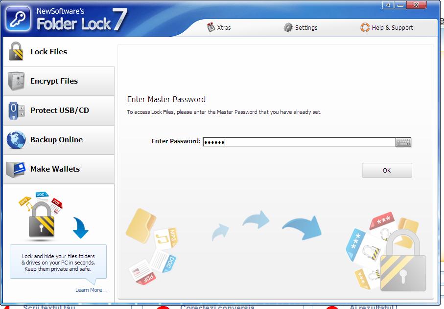 Приложение под названием Folder Lock предлагает вниманию пользователей
