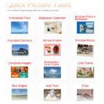 Un program simplu de editat poze online – Quick Picture Tools