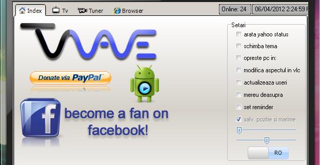 Vezi gratuit peste 400 de posturi TV online cu Tv Wave